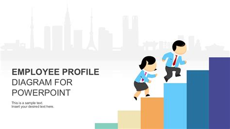hr ppt templates free employee profile diagram powerpoint template