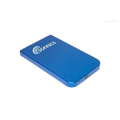 Memory External 250gb new sonnics 320gb usb 2 0 portable external drive storage blue ebay