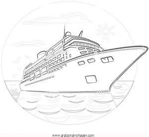 kreuzfahrtschiff 1 gratis malvorlage in schiffe