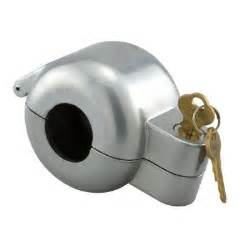 prime line gray painted diecast knob lock out device s