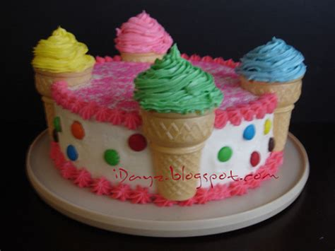 how to decorate the cake at home ice cream cakes decoration ideas little birthday cakes