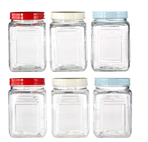 glass kitchen storage canisters square glass storage canisters jar jam spices sauce with