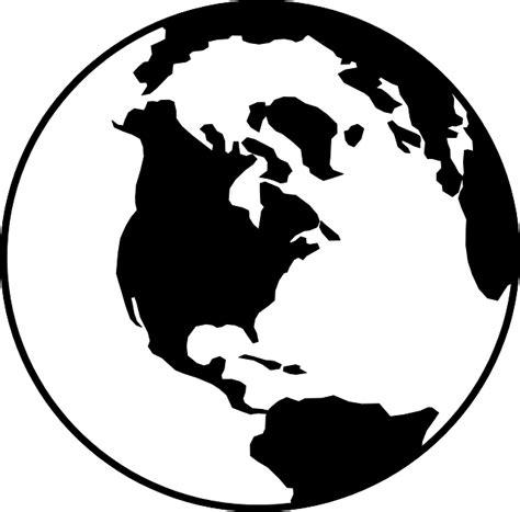 clipart mondo mundo la tierra negro 183 gr 225 ficos vectoriales gratis en pixabay