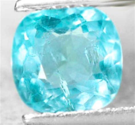 154 05 Ct Untreated Blue Opal 1 27 ct untreated neon blue paraiba apatite gemstone