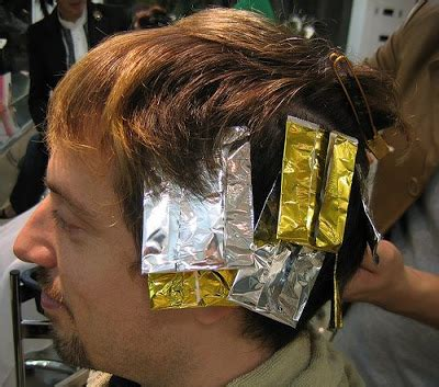 haircut and foil top model 2011 foil hairstyles