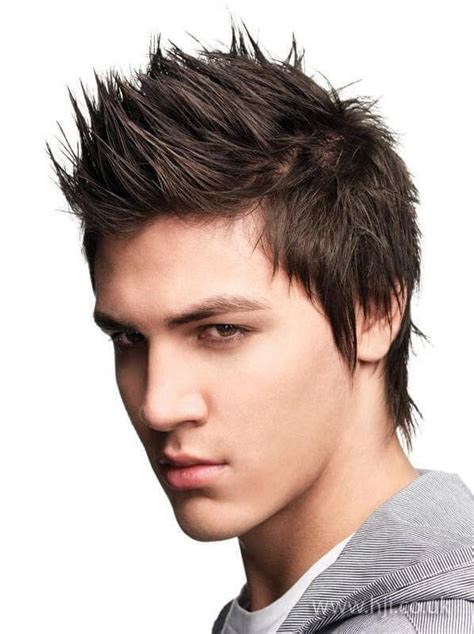 Faux Cut Hairstyle by Faux Hawk Hairstyle For