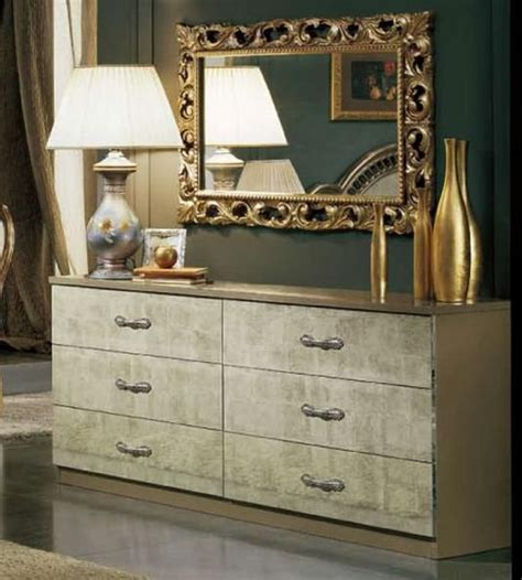 Italian Dressers Furniture by Trend Italy Made Traditional Dresser Prime Classic