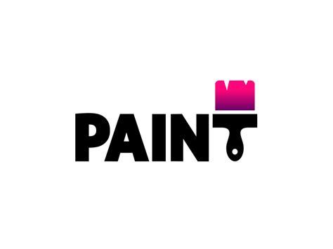 design a logo in paint paint logo by aditya logo designer dribbble