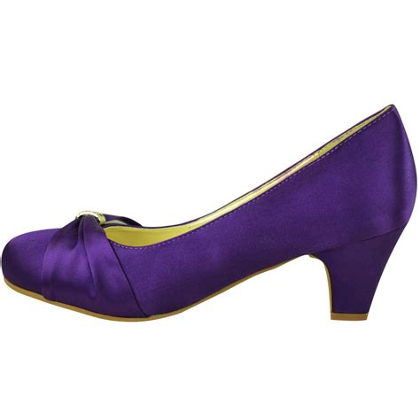 Where To Buy Bridesmaid Shoes by Womens Wedding Bridal Prom Shoes Low Heel