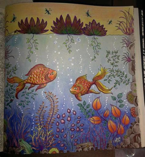 secret garden colouring book guardian 112 best images about coloring water on