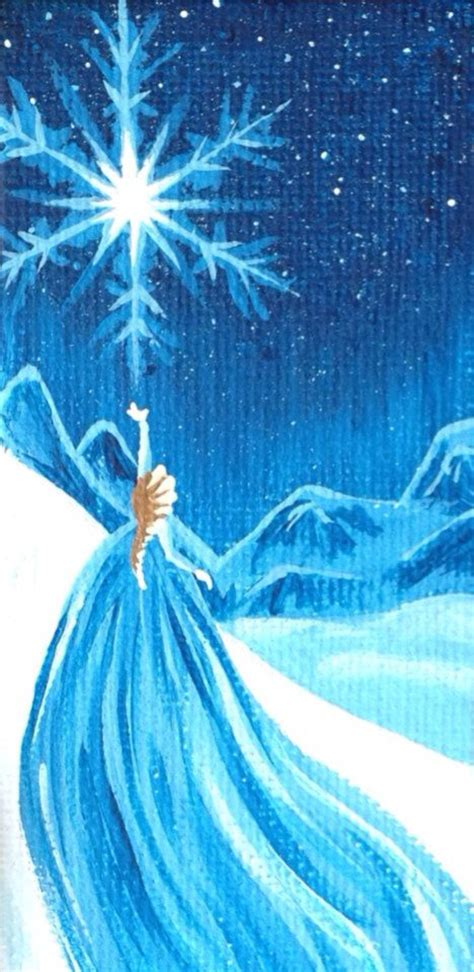 disney frozen painting let it go