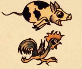 tattoo old school pig a report on tattoos tattoo taboos