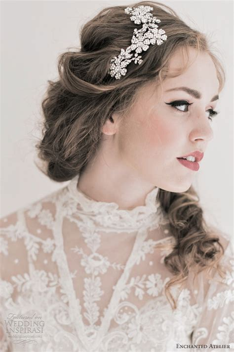 accessories for wedding hair enchanted atelier fall 2013 bridal accessories wedding