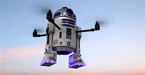 Cool Speakers don t mistake this flying r2 d2 for ufo it s actually a