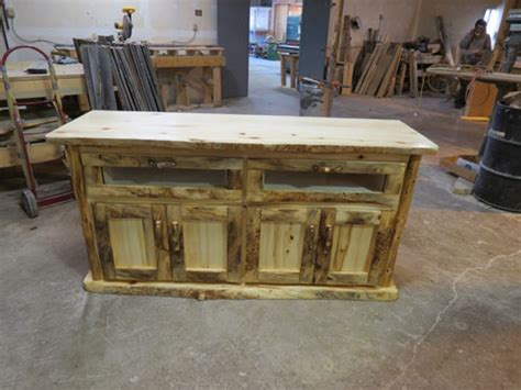 handcrafted rustic aspen and pine log bedroom furniture