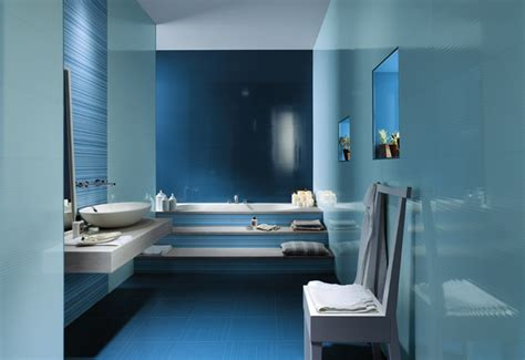 Blue Bathroom Tile Ideas Blue White Ceramic Bathroom Tiles Interior Design Ideas