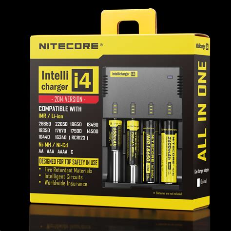 Charger Baterray Nitecore Um10 For 18650 Vape Vapor Vaping nitecore intelli charger 187 vapertown