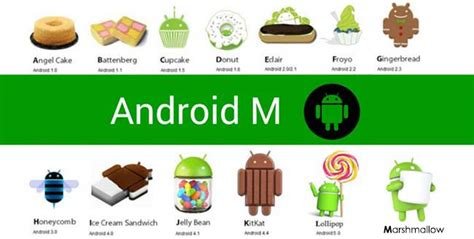 android update names top 5 features of android m marshmallow sagmart
