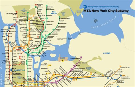 mta maps rosemary ferreira mta subway map city