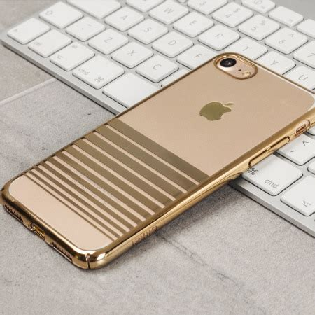 olixar melody iphone 7 case gold