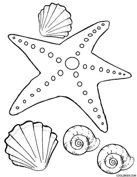 starfish coloring pages preschool printable starfish coloring pages for kids cool2bkids