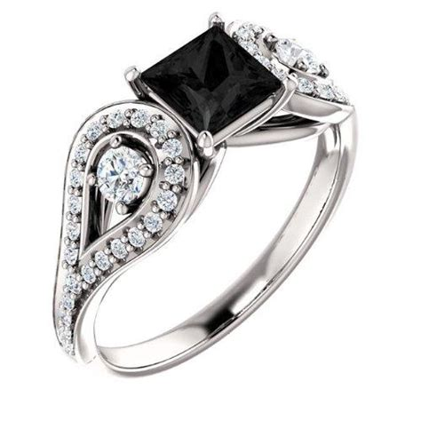 Marquez Semut Black engagement ring ideas may 2014