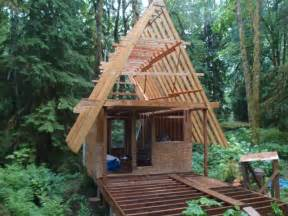Small A Frame Cabin by Small Cabin Plans A Frame Pads Pinterest Cabin Tiny