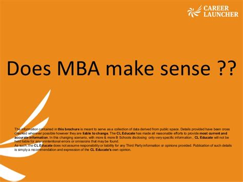 Does An Mba Make You Associate by Does Mba Make Sense
