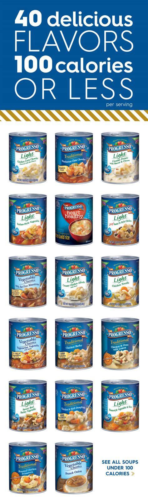 progresso light soup recipes progresso light soups 40 delicious flavors 100 calories