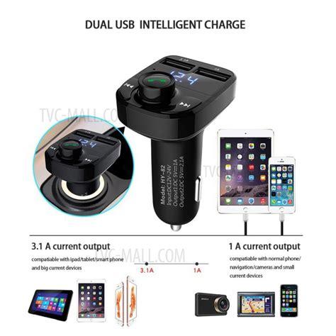 Hy 88 Dual Usb Car Charger Wireless Bluetooth Fm Transmitter Car Kit hy 82 car free bluetooth mp3 player fm transmitter with dual usb output
