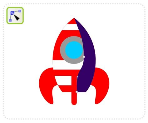 vector rocket tutorial quick tip how to create a cartoon rocketship with inkscape
