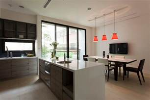 Dining Room Island Design Modern Kitchen Diner Interior Design Ideas
