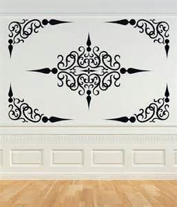 ceiling stickers decorative scroll panel or ceiling panel by vinylwallaccents