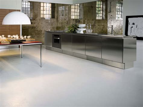 Stainless Steel Kitchen Cabinets Stainless Steel Kitchen Cabinets E5 From Elam Digsdigs
