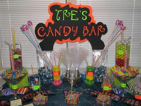 Sweet 16 Neon Candy Buffet Yelp Neon Buffet