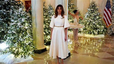 melania trump y sus posados adelantan la navidad en la - Decoracion De Navidad Melania Trump