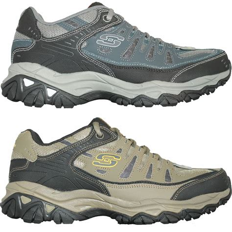 after sport shoes mens skechers sport after burn shoes sneakers black khaki