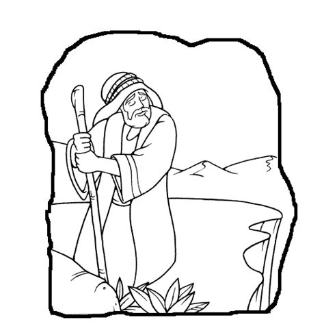 abraham lot coloring pages printable coloring pages