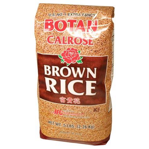 botan rice botan brown rice 5 lbs asianfoodgrocer