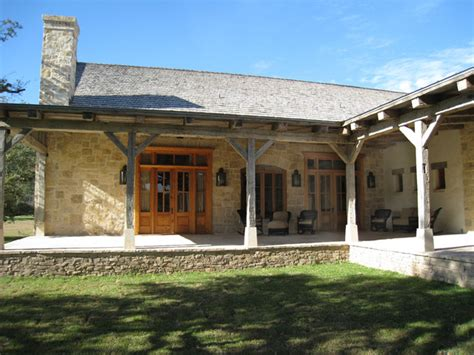texas ranch house plans reese ranch headquarters south texas rustic porch other metro by woodco millwork ltd