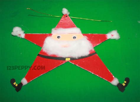 How To Make Santa Claus Out Of Paper - crafts project ideas 123peppy