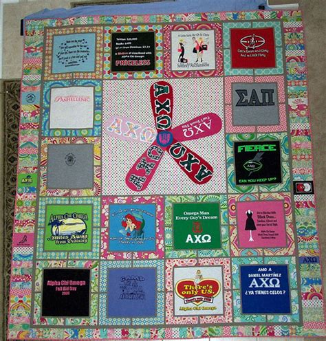 Modern T Shirt Quilt by T Shirt Quilt Front Flickr Photo