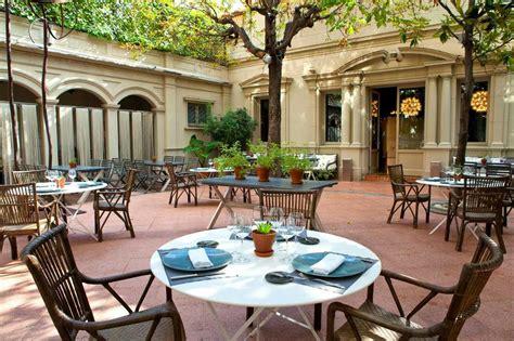 restaurante con jardin barcelona teatro al fresco restaurante con terraza en barcelona