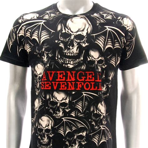 Avenged Sevenfold 1 T Shirt Size M Sz S M L Xl 2xl Avenged Sevenfold A7x T Shirt All