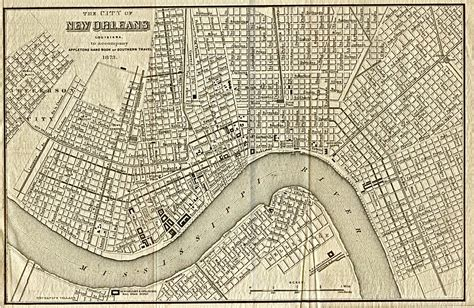 new orleans on map louisiana maps perry casta 241 eda map collection ut library