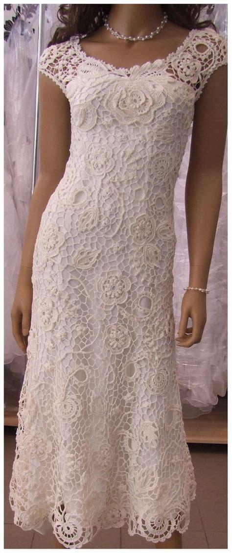 10 vestidos de novia rom 225 nticos para tu boda blog bodas las 25 mejores ideas sobre vestidos de novia de croch 233 en