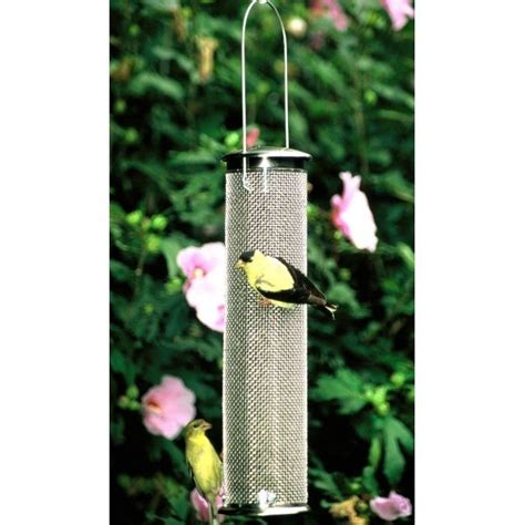 nyjer mesh finch feeder wild bird supplies gregrobert