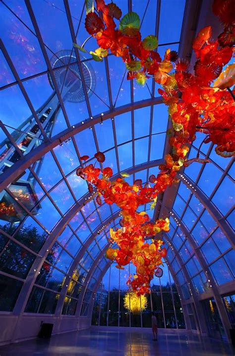 Chihuly Glass And Garden by Chihuly Garden And Glass Exhibit Previewed Sfgate