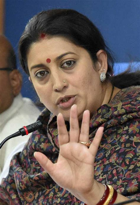 Ls India by Cong Privilege Motion Against Smriti Irani In Ls