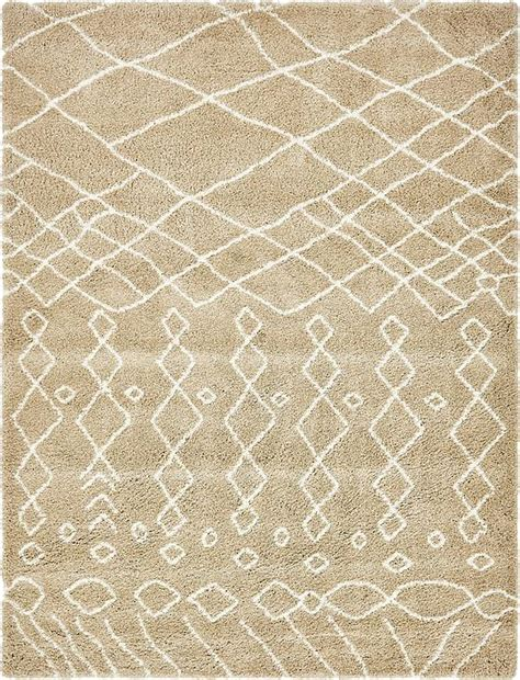 9x12 shag rug taupe 9 x 12 marrakesh shag rug area rugs esalerugs
